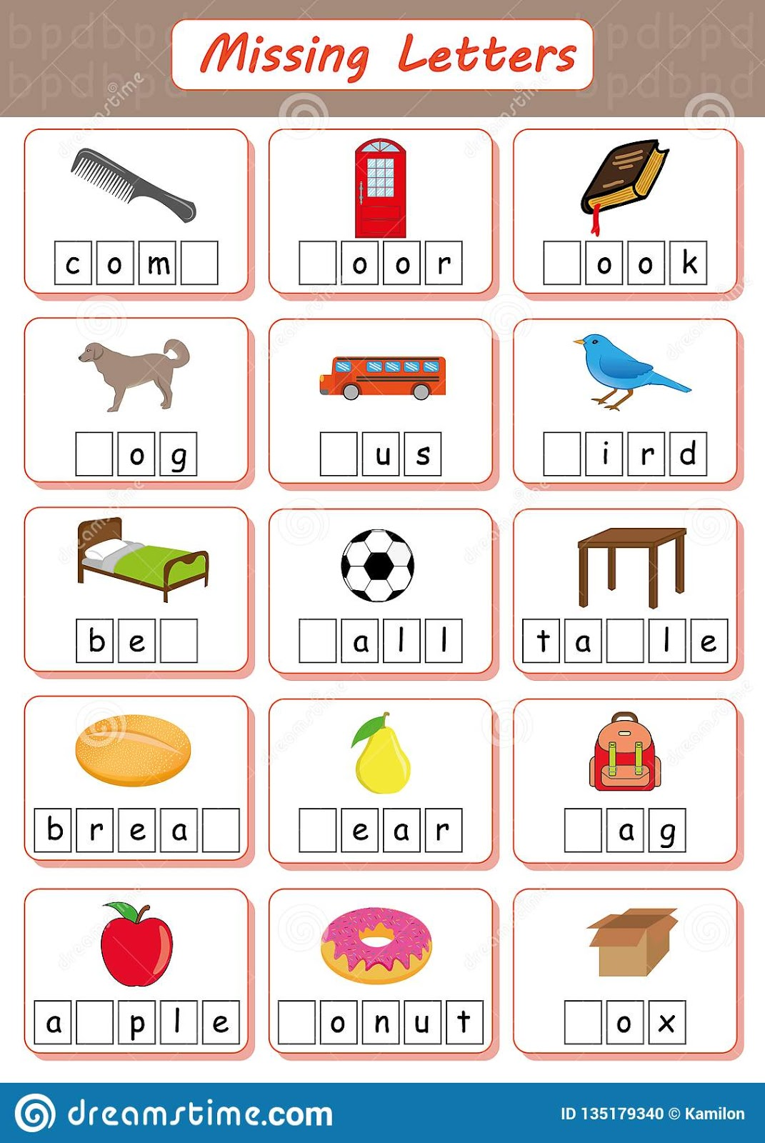 Alphabet Worksheet And