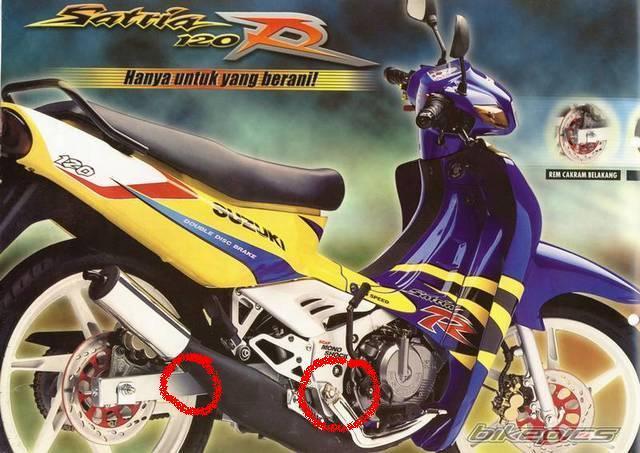 Phân biệt các đời Su xì po (Suzuki Sport) 1996 - 2006