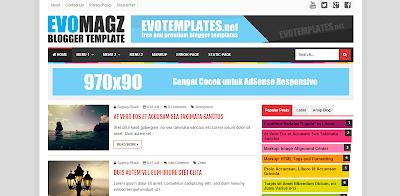 Evo Magz : Daftar 10 Template Blog Terpopuler Tahun 2016 erdinmaulana.blogspot.com