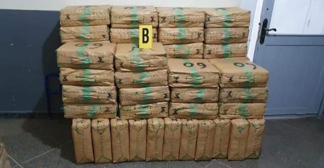 أمن أكادير يحجز كمية مهمة من المخدرات بشاحنة مقطورة