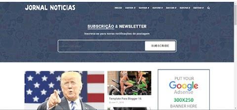 Jornal Noticias Blogger Template