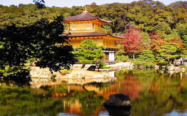 Tham quan chùa Kinkakuji
