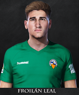 PES 2021 Faces Froilán Leal by Rachmad ABs