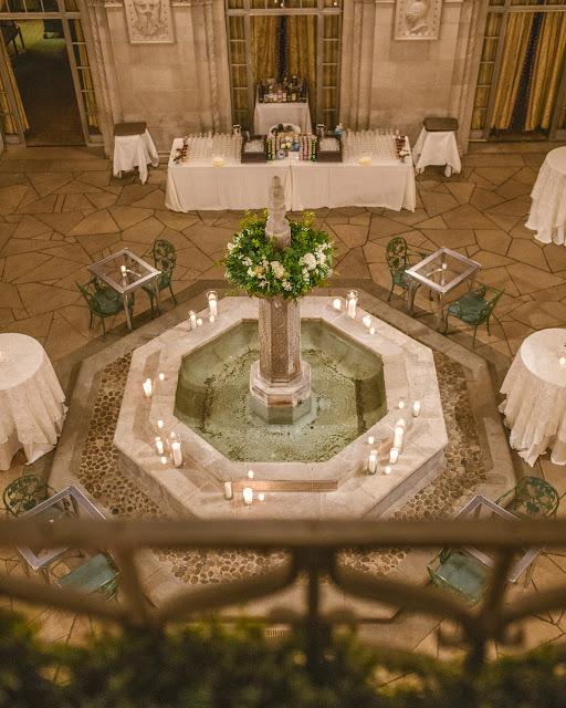 Duquesne Club Pittsburgh Fountain Room Wedding