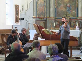 Ensemble baroque Ma Non Troppo Nicolas Mackiowiak, Camille Rancière, Jean Guillaumont