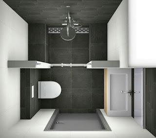 Gambar model kamar mandi sederhana minimalis