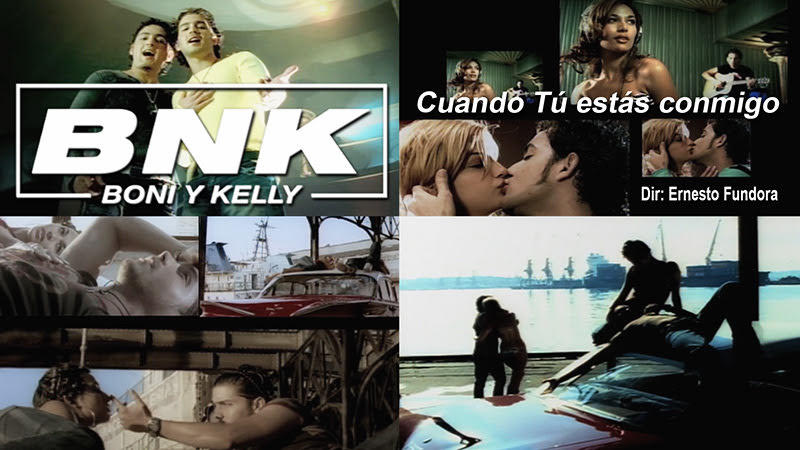 Boni & Kelly (BNK) - ¨Cuando Tú estás conmigo¨ - Videoclip - Director: Ernesto Fundora. Portal Del Vídeo Clip Cubano