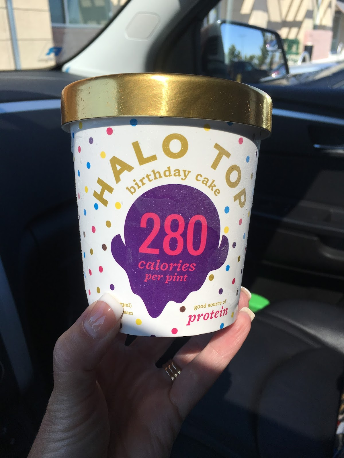 I FINALLY Got My Hands On Some Birthday Cake Flavor Halo Top Ive Been Telling Yall About This Ice Cream For A While Now And In Search Of The