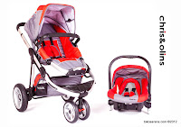 Chris and Olins U6658D Vogue Travel System Baby Stroller