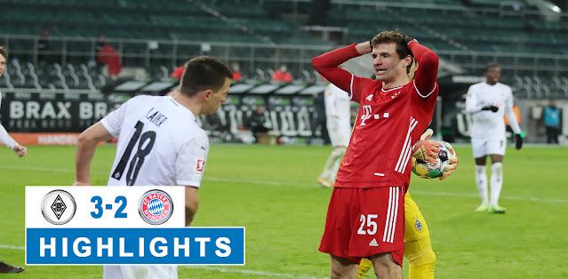 Borussia M'gladbach vs Bayern München – Highlights