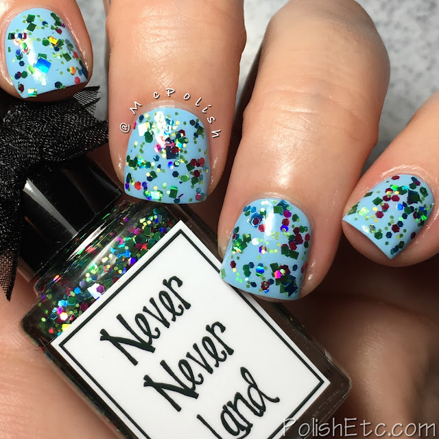 Whimsical Ideas by Pam - Holiday 2017 - McPolish - Never Never Land