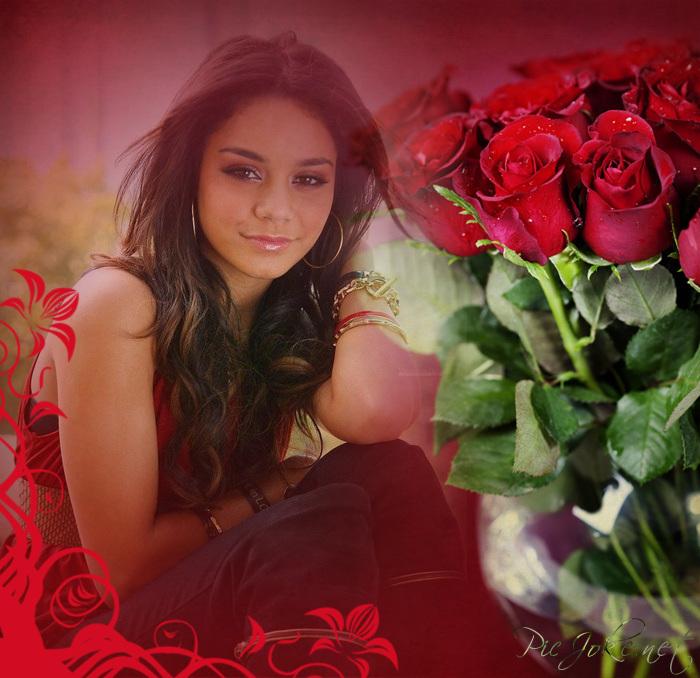 Como Editar Mis Fotos Fotomontaje De Rosas Rojas