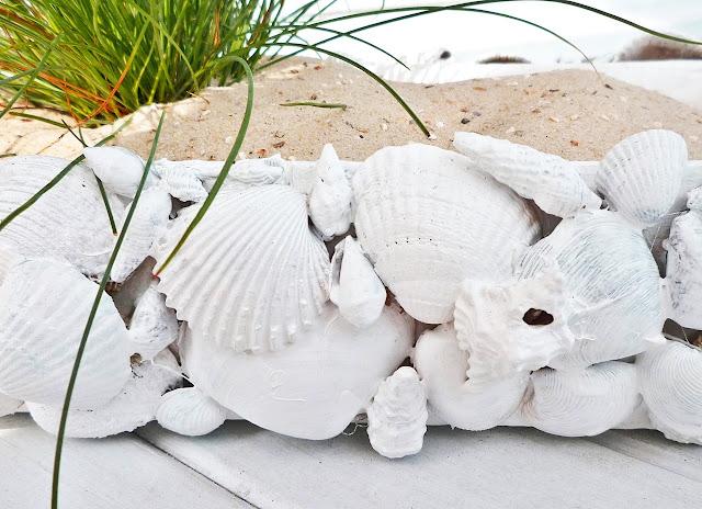 Basteln mit Muscheln - DIY vonKarin - Muschellandschaft mit Tetrapack