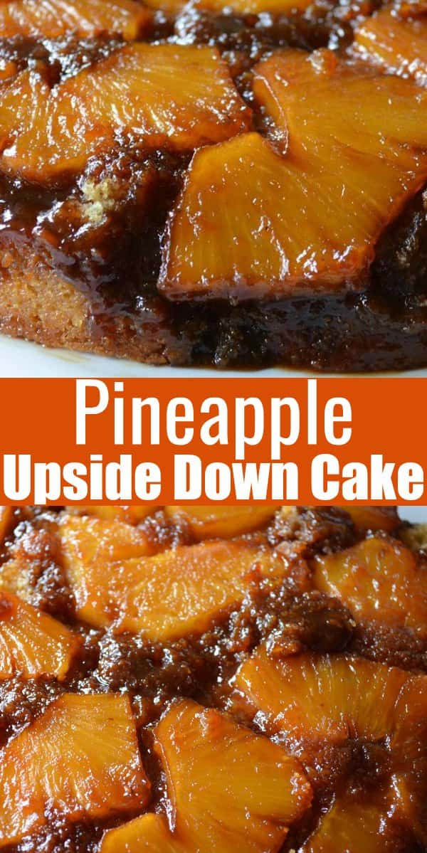 Pineapple Upside Down Cake recipe from scratch using fresh pineapple is a favorite dessert recipe from Serena Bakes Simply From Scratch.