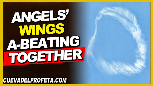 Angels' wings a-beating together - William Marrion Branham