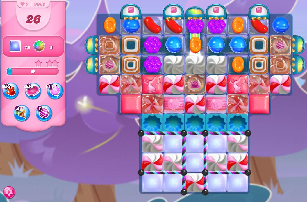 Candy Crush Saga level 9085