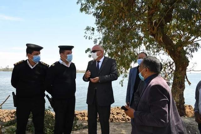 الداودي يعلن عن ٨ مليون جنيه لتنفيذ امتداد كورنيش النيل بنجع حمادى