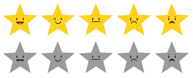 Star Rating Smiley
