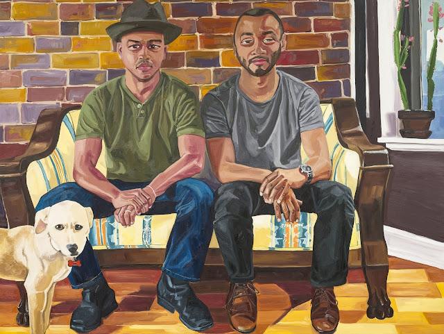Американский художник. Jordan Casteel