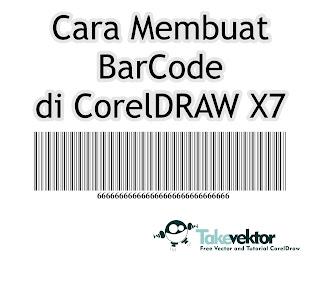 cara membuat barcode di corel