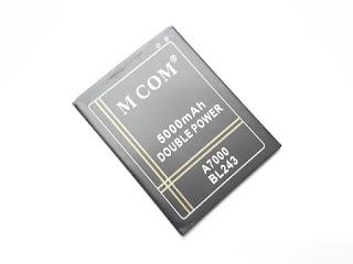 Baterai Handphone Lenovo A7000 BL243 5000mAh MCOM