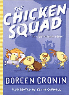 https://www.amazon.com/Chicken-Squad-First-Misadventure/dp/1442496770/ref=sr_1_1?s=books&ie=UTF8&qid=1466718519&sr=1-1&keywords=the+chicken+squad+the+first+misadventure