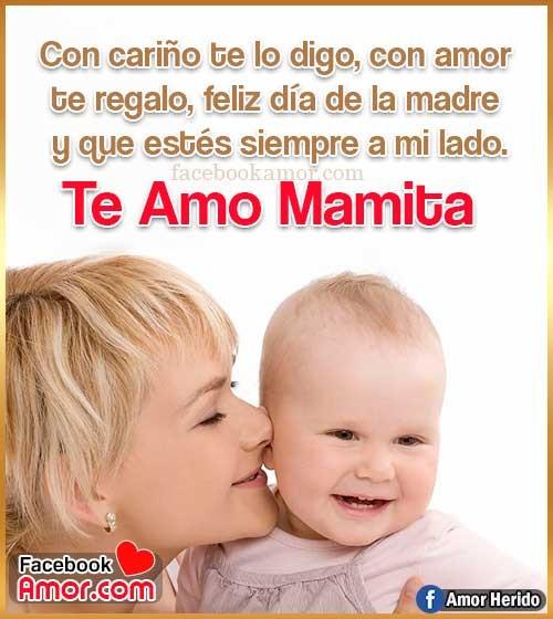 madre hijo te amo mamá
