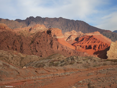 road to Cafayate, Argentina