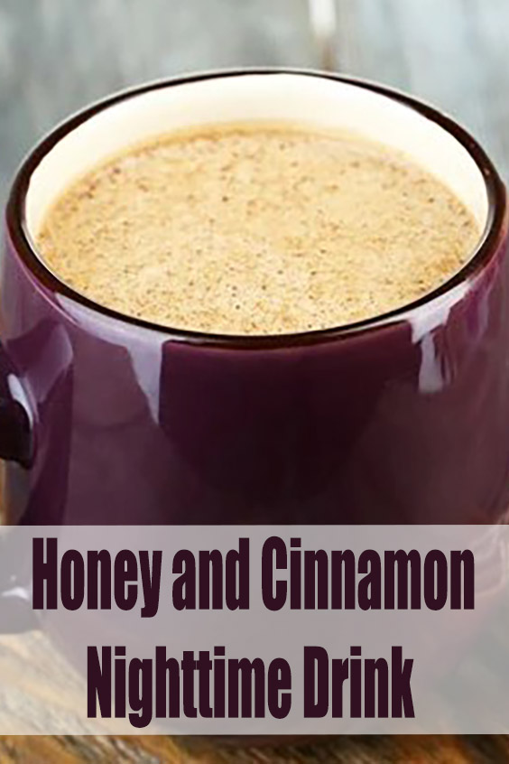 Honey and Cinnamon Nighttime Drink