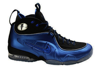 Nike Air Half Cent Lil Penny Dark Blue Shoes