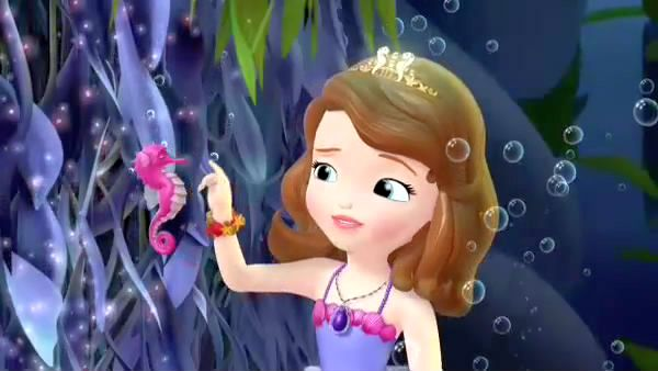 PRINCESS SOFIA: A mermaid whose little sister is in trouble.