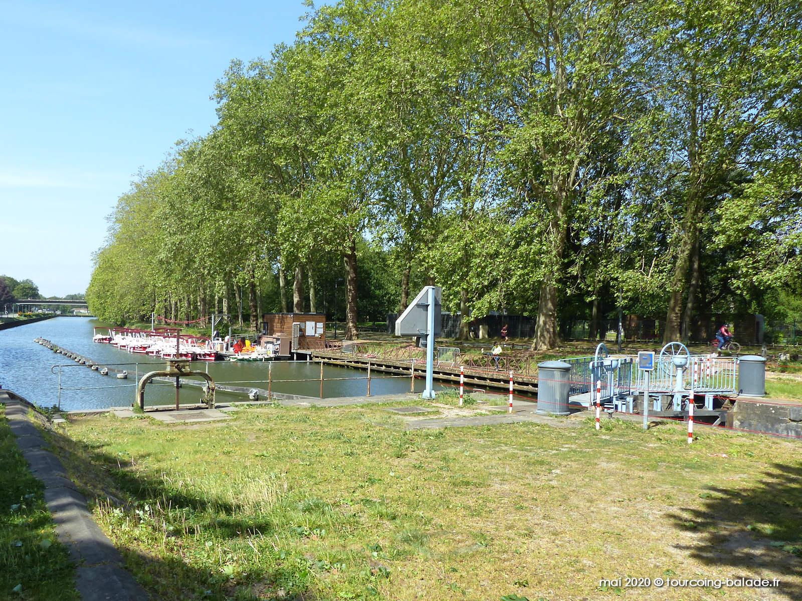 Écluse de la Barre, Deûle, Lille 2020