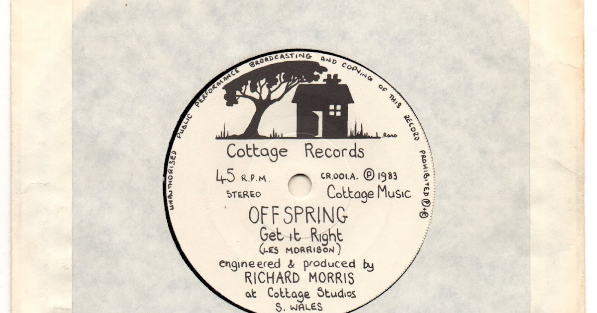 My Life S A Jigsaw Offspring Get It Right 1983