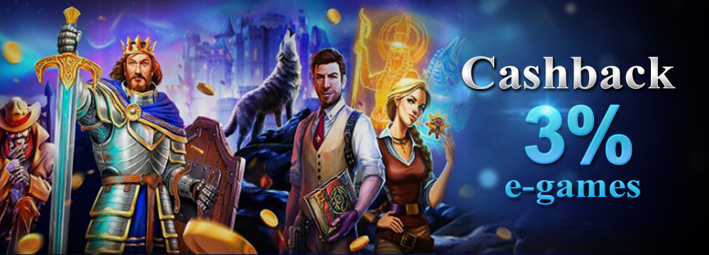 cashback slot e-games terbesar