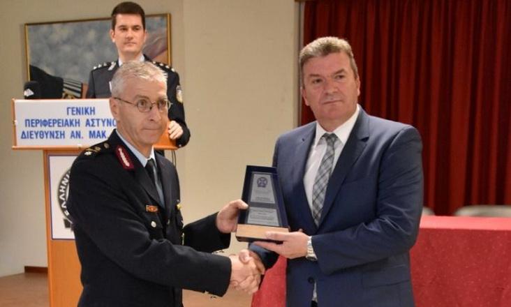 Τελετή παράδοσης - ανάληψης καθηκόντων του Γενικού Περιφερειακού Αστυνομικού Διευθυντή Αν. Μακεδονίας και Θράκης