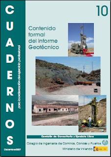 Cuadernos CICCP nº 10 - Contenido formal del informe geotécnico