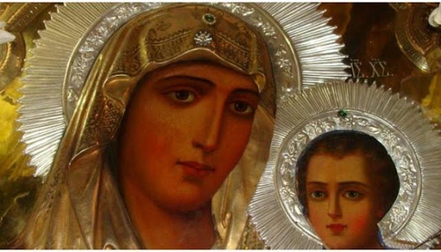 Η Παναγία φιλόστοργη μάνα όλων