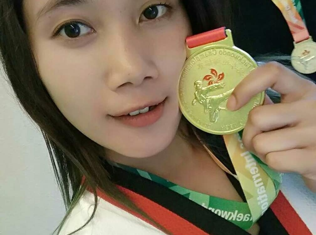 Dara Cantik Asal Wonosobo Torehkan Prestasi Taekwondo Di Hongkong