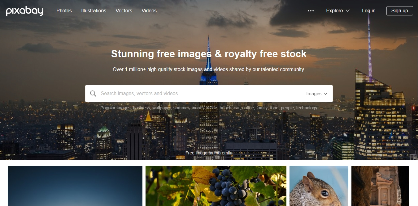 افضل 10 مواقع لتحميل الصور والخلفيات عالية الجودة بدون حقوق