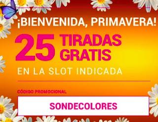 goldenpark 25 tiradas gratis Yaky Nuca 21-3-2021