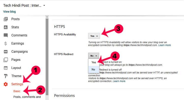 Blogspot Custom Domain Par https kaise lagaye