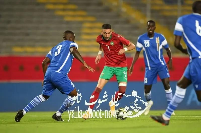 موعد مباراة المغرب وافريقيا والوسطي تصفيات كأم أمم افريقيا 2021