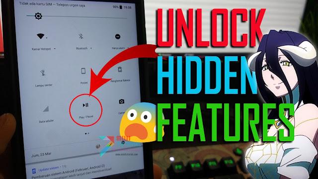 Benarkah Opsi Panel Quick Setting pada Xiaomi Mi A1 Bisa Ditambah? Inilah Cara Unlock Fitur Tersembunyinya