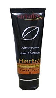 Patanjali Activated Carbon Facial Foam (Patanjali products)