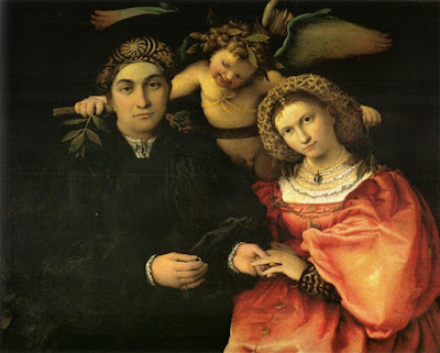 Leering-est putti in all of Renaissance Art