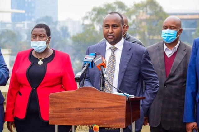 National Assembly Minority Whip Junet Mohamed