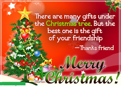 Merry Christmas To a Special Friend Quotes