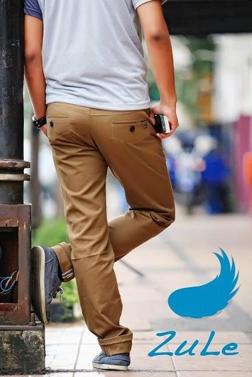Celana chino, celana trendy dan elegan untuk kaum muda yang ingin tampil gaya dan casual