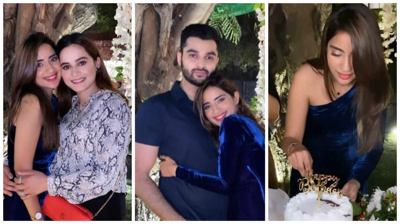 Saboor Ali birthday pictures