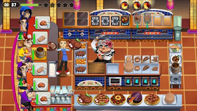 Cooking Dash 2017 APK Mod (Unlimited Golds/Coins) V1.29.13 Terbaru  3